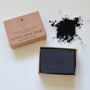 Zero Waste Soap Bar - Activated Charcoal