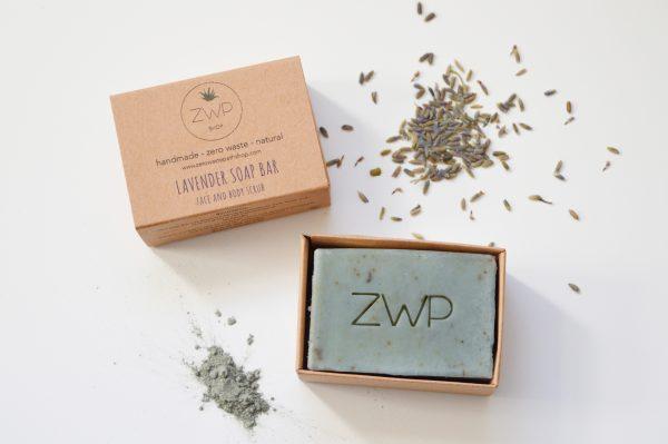 Zero Waste Soap Bar - Lavender