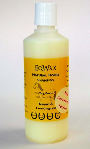 Eqwax bug busting natural horse shampoo
